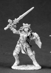 Elise goof female knight