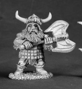 thurge threeforge dwarf hero