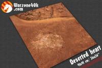 36x36 Warhammer 40k deserted heart gaming mat