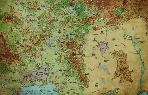carte du Sartar dans son environnement géopolitique