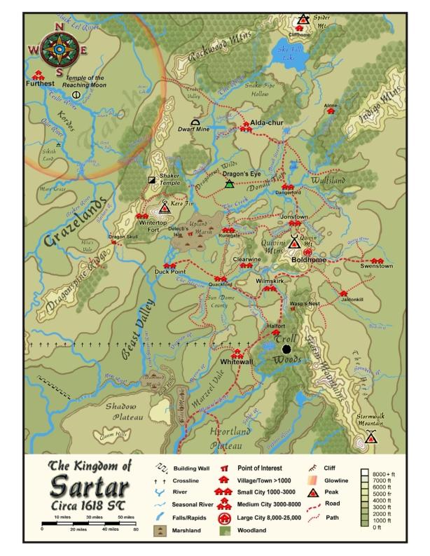 Le royaume du Sartar